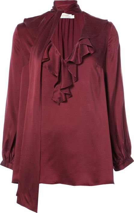 Zimmermann scarf neck blouse
