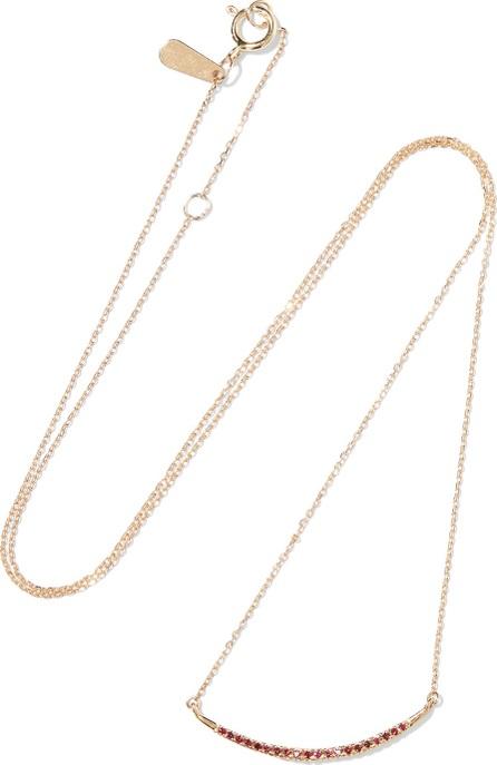 Adina Reyter 14-karat gold ruby necklace