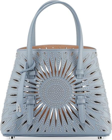 Alaïa Mina Min Cuir Lux Tote Bag