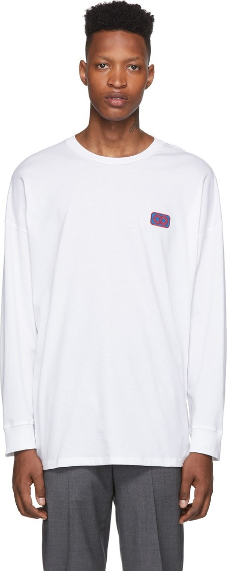 Opening Ceremony White Unisex OC Long Sleeve T-Shirt