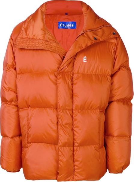 Etudes Logo print puffer jacket