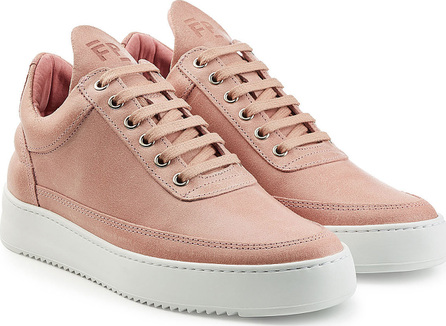 Filling Pieces Fundament Low Top Suede Sneakers