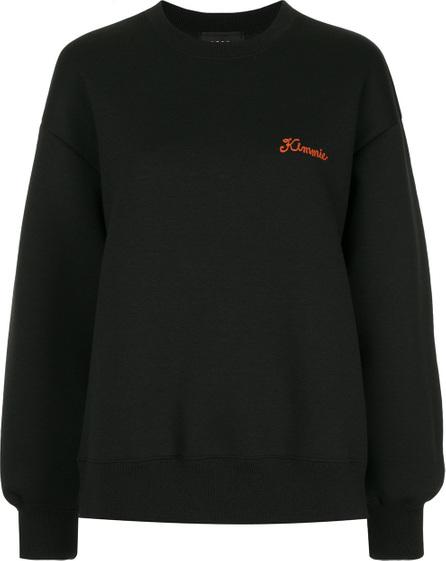 G.V.G.V. Embroidered crew neck sweatshirt