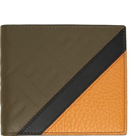 Fendi Brown 'Forever Fendi' Bifold Wallet