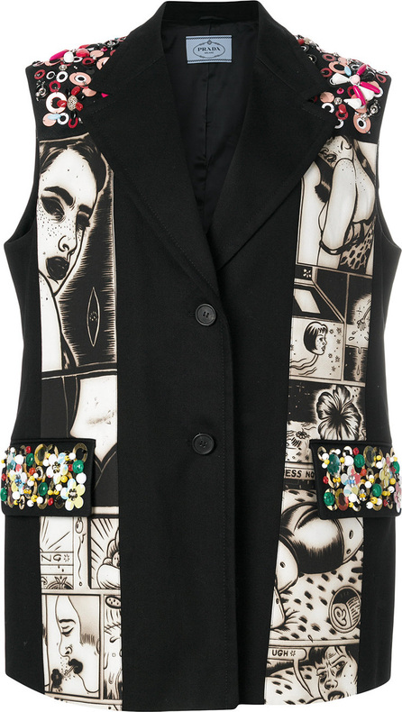 Prada Alice sleeveless jacket