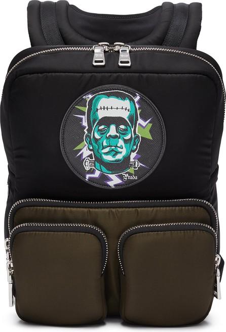 Prada 'Frankenstein' Tesstuto pocket patch backpack