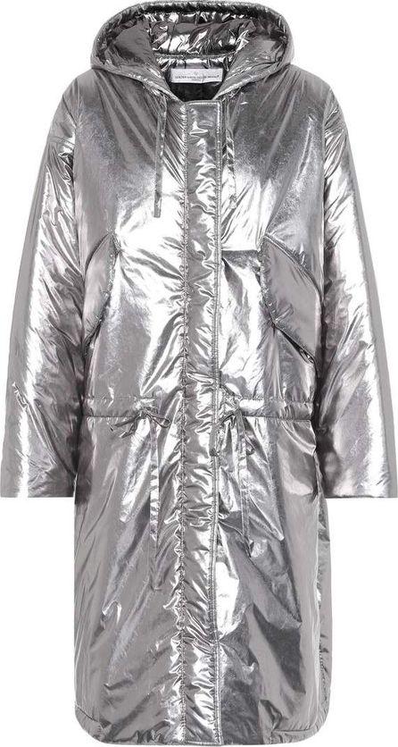Golden Goose Deluxe Brand Metallic puffer coat