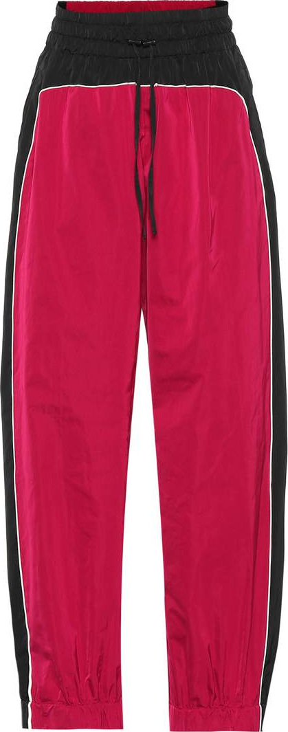 Dries Van Noten Silk-blend trackpants