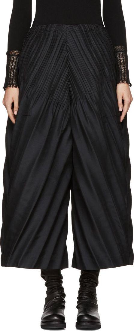 Issey Miyake Black Slant Lounge Pants