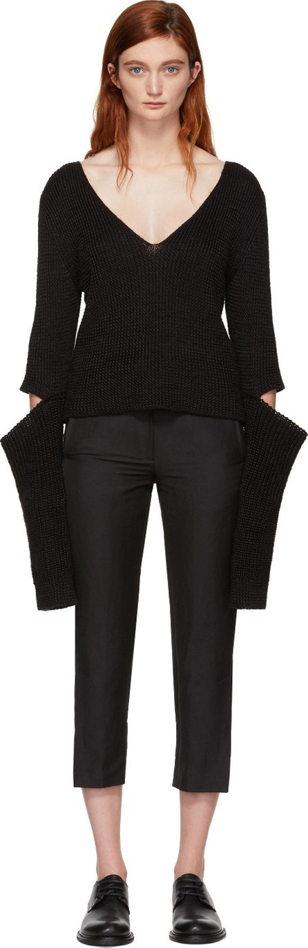 Ann Demeulemeester Black Centaur Sweater