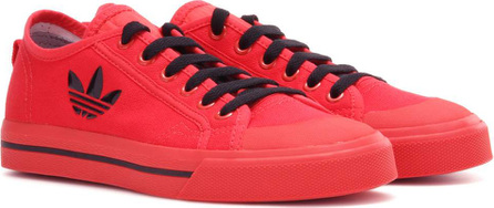 Adidas By Raf Simons Matrix Spirit Low canvas sneakers