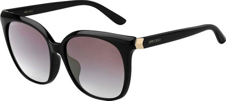 Jimmy Choo Wilmafs Square Mirrored Sunglasses