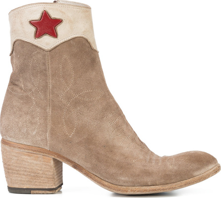 Fauzian Jeunesse Red star ankle boots