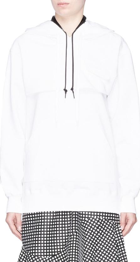 FACETASM 'Love' print detachable hoodie overlay sleeveless sweatshirt