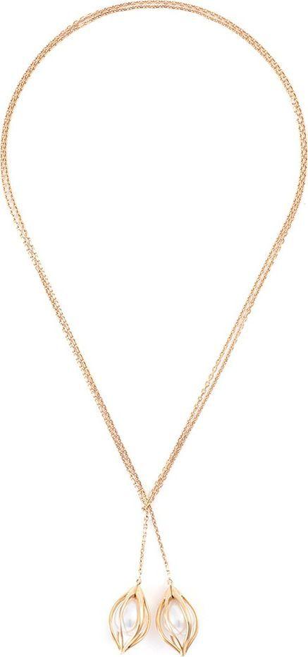 Mellerio 'Bourgeons de Lys' pearl floral pendant necklace