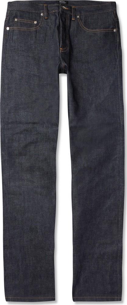 A.P.C. New Standard Dry Selvedge Denim Jeans