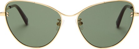 Stella McCartney Cat-eye metal sunglasses