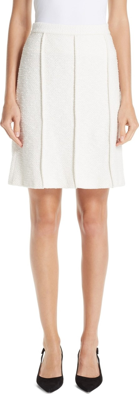 St. John Belle du Jour Knit A-Line Skirt