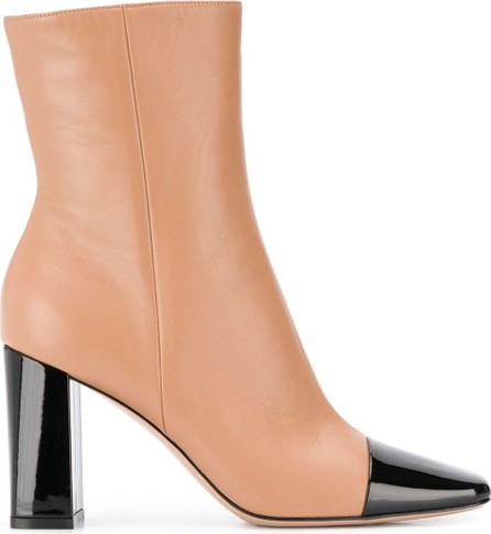 Gianvito Rossi 90mm cap toe ankle boots