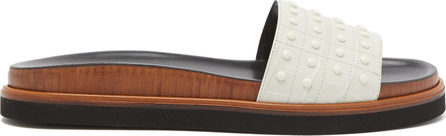 Tod's Gommini leather slides