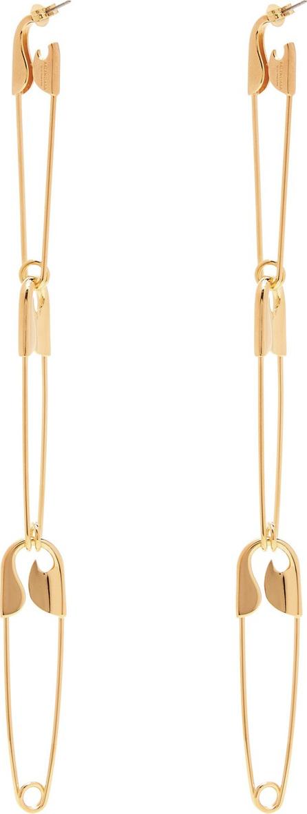 Balenciaga Safety-pin drop earrings