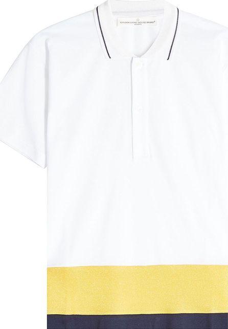 Golden Goose Deluxe Brand Dalila Color Block Polo Shirt