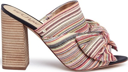 Sam Edelman 'Yumi' stripe bow mules
