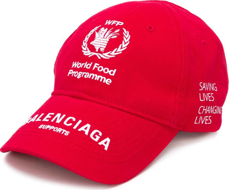Balenciaga World Food Programme cap