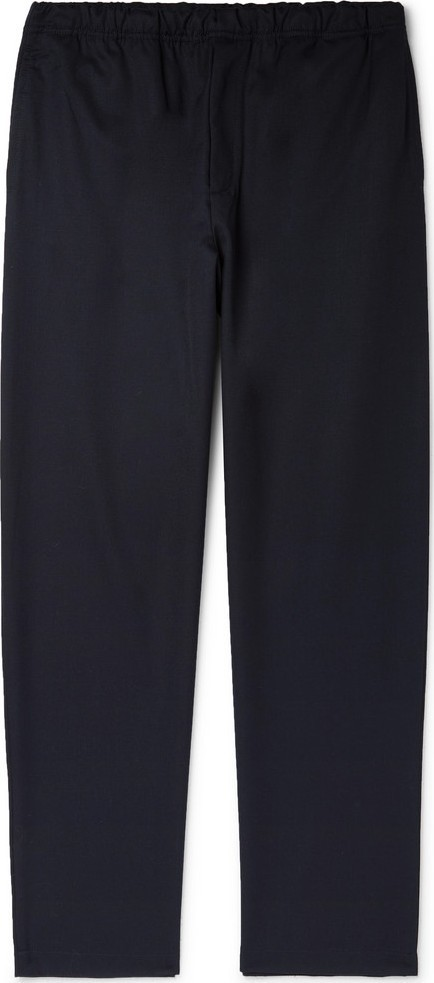 Très Bien Departure Wide-Leg Woven Drawstring Trousers
