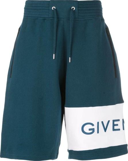 Givenchy Logo Embroidered shorts
