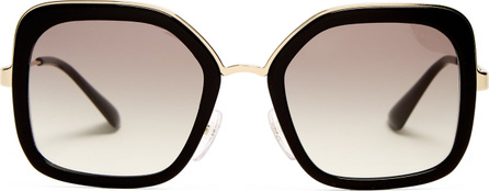 Prada Square-frame acetate sunglasses