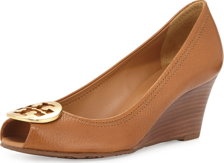 Tory Burch Sally 2 Leather Wedge Pump