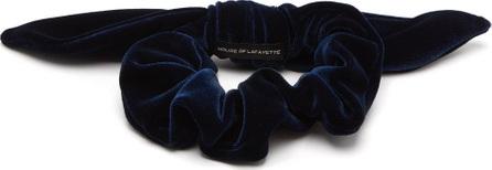 House of Lafayette Bow-embellished velvet hair tie