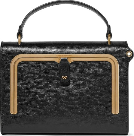 Anya Hindmarch Postbox small textured-leather tote