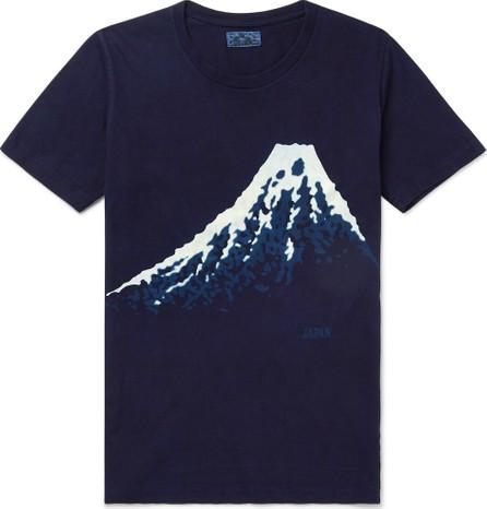 Blue Blue Japan Bassen Indigo-Dyed Cotton-Jersey T-Shirt