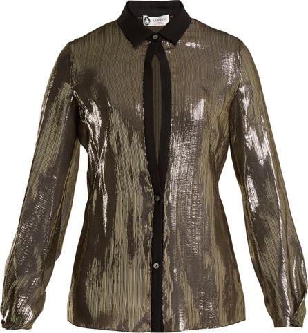 Lanvin Striped silk shirt