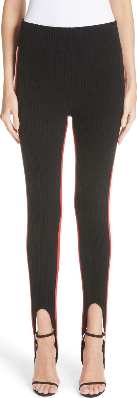 Calvin Klein 205W39NYC Side Stripe Stretch Wool Stirrup Leggings