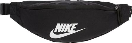 Nike Black Heritage Logo Hip Pack