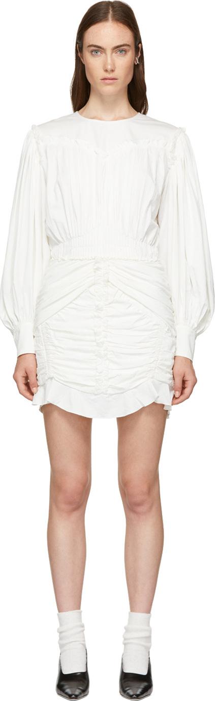 Isabel Marant White Unice Dress