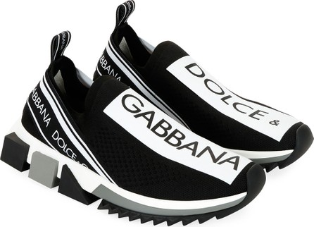 Dolce & Gabbana Sorrento Knit Trainer Sneakers