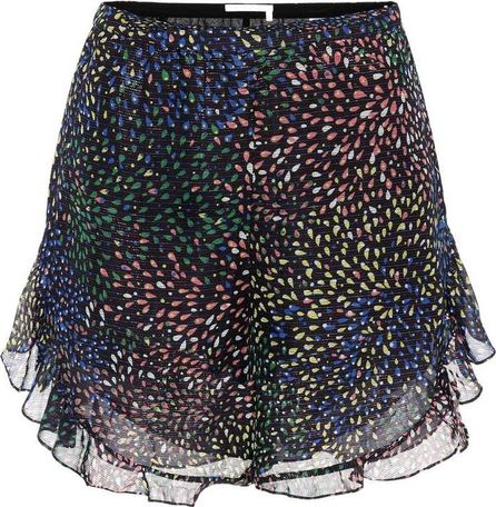Chloe Flounce cotton and silk shorts