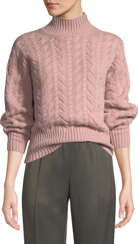 Agnona Turtleneck Cable-Knit Cashmere Sweater