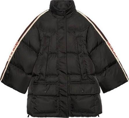 Gucci Puffer Cape Jacket