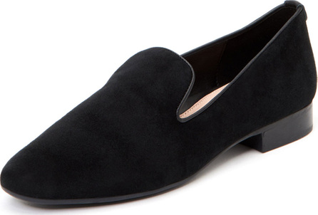 Taryn Rose Bryanna Flat Suede Arch-Support Loafers