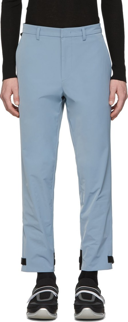 Prada Blue Techno Trousers