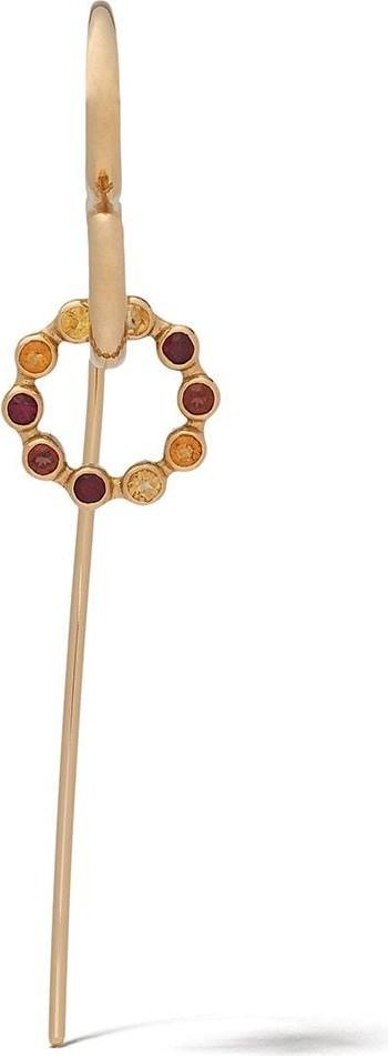 Charlotte Chesnais 18kt yellow gold Swing single earring