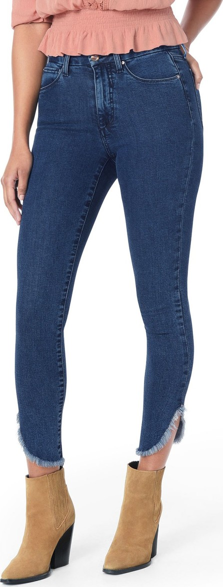 Joe's Jeans Honey Dolphin Frayed Hem Ankle Jeans