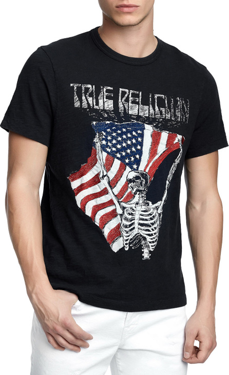 True Religion Men's Born Free Graphic T-Shirt