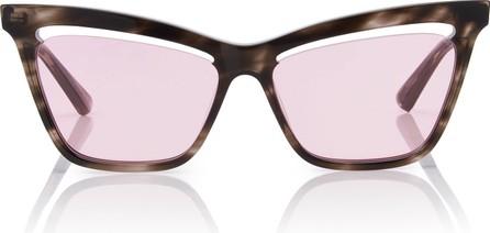McQ - Alexander McQueen Angular Acetate Cat-Eye Sunglasses