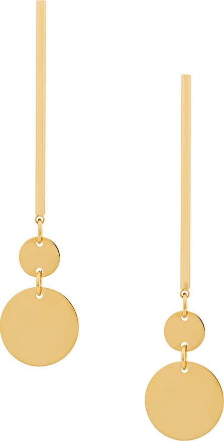Jil Sander Double coin earring